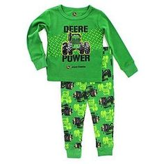 John Deere Baby Toddler Boys Pajamas Set Grey Let's Roll) Baby Boy Pajamas, Toddler Pajamas, Toddler Boys, John Deere Kids, John Deere Baby, John Deere Clothes, Pajama Set, Pajama Pants, Kids Pjs