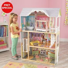 Ikea dollhouse furniture - A few days ago I taught you several ideas to make very simple, cardboard doll houses for little ones in house. Ikea Dollhouse, Wooden Dollhouse, Wooden Dolls, Dollhouse Miniatures, Miniature Furniture, Doll Furniture, Dollhouse Furniture, Furniture Ideas, Plan Toys