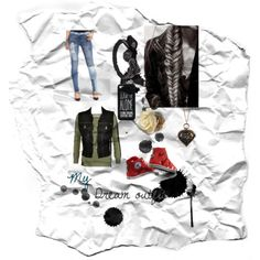 My dream outfit by ryebehrens on Polyvore featuring polyvore fashion style Forever Unique Jean-Paul Gaultier Black Orchid Converse Amrita Singh ASOS Wet Seal