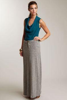 Robbi & Nikki Maxi Jersey Skirt
