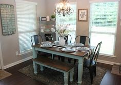 For my Sister - Faith, Football, and Fairy Tales: {SUYL: Dining Rooms}