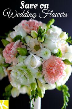 8 Ways to Save on Wedding Flowers.