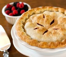 Butter Pastry for Double Crust Pie  Butter pastry adds unforgettable flavor to enhance any pie filling. This recipe offers... more