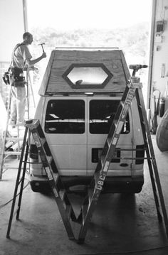 Camper Van Conversion Part 1: Raising the Roof | Regressing Forward