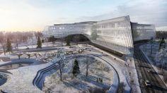 La Silicon Valley russa firmata Zaha Hadid Architects. Il nuovo Technopark a Skolkovo pronto nel 2019