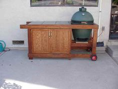 how to build a rolling cart for your grill grilling pdf and green eggs. Black Bedroom Furniture Sets. Home Design Ideas
