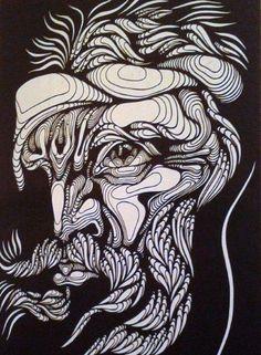 Mi Universar: Martín Fierro Drawings, Painting, Abstract Artwork, Art, Folklore, Artsy, Portrait, Folk