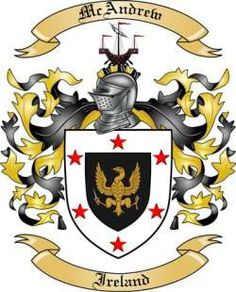 My Coat of Arms...love being Irish!