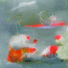 "New one, ""Let Your Senses Wander"". Acrylic, paint pen and oil pencil on linen paper. #abstractart #art #painterspalette #paintersofinstagram #coloradoartists #color"