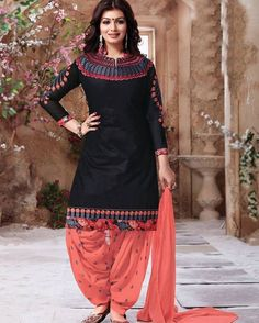 Black Cotton Punjabi Suits Click on the link mentioned on our page and order instantly !  Product id:  1464508| Price : USD 26 Worldwide Delivery  7 day return policy with 100% refund.  DM or whatsapp on 91 8291100288  Visit m.mirraw.com/insta Like Comment Tag & Share #salwarkameez #salwarsuit #blacksalwar #punjabisuit #patialasuit #anarkali #onlineshopping #ethnic #shoppinglove #embroidery #elegant #simple #call #whatsapp #orderOninsta #ordernow #shop #hasslefree #newcollections…