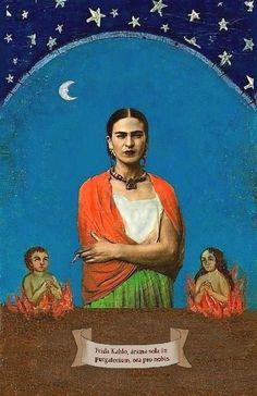 Animas solas,  Frida y la luna by armando moncada, via Flickr