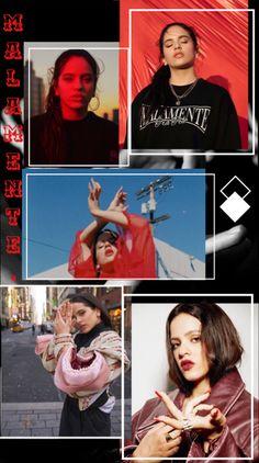Wallpaper Malamente/ Badly by Rosalía