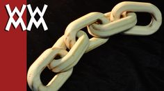 Make a wood chain using a router - this guy has lots of woodworking project videos