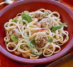 "Thai Mini Meatballs & Noodles (Except, what is ""Thai Seasoning""?"""