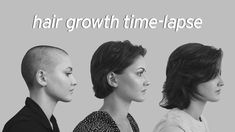 Hair Growth Time-lapse - 1 Year