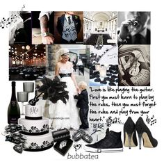 Rock and Roll wedding