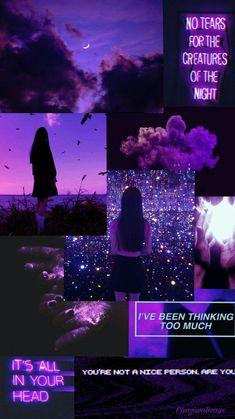 Dark Purple Aesthetic, Black Aesthetic Wallpaper, Iphone Wallpaper Tumblr Aesthetic, Tumblr Wallpaper, Aesthetic Wallpapers, Wallpaper Quotes, Purple Aesthetic Background, Purple Wallpaper Iphone, Iphone Background Wallpaper