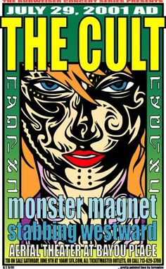 The Cult, with Monster Magnet