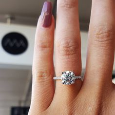 16.3k Followers, 1,986 Following, 997 Posts - See Instagram photos and videos from Georgina  🇬🇧🇨🇦📍London (@georginastokes) Beautiful Engagement Rings, Solitaire Engagement, Wedding Engagement, Wedding Rings, Wedding Pinterest, Silver Diamonds, Love And Marriage, Jewelery, Jewelry Accessories