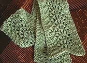 Perfect for beginners, this stitch called 'Feather and Fan' or 'Old Shale' Cast on 22 stitches and knit 2 rows. Now you're ready to begin the lace pattern, which is as follows. Row 1: (RS): K all sts. Row 2: K2, p18, k2. (Those 2 border stitches on eith.