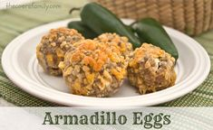 Armadillo Eggs recipe from thecoersfamily.com