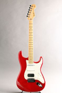 FENDER CUSTOM SHOP[フェンダーカスタムショップ] Custom Deluxe Stratocaster FMT Trans Red MOD  詳細写真