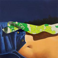 Gérard Schlosser - Avec un autre - Acrylique sur toile sablée - 100 x 100 cm - 2013