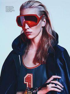 Juliana Schuring by Sebastian Kim for Vogue Australia February 2014