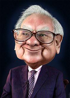 Warren Buffett by DonkeyHotey