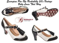 Chaussures Escarpins Pin-Up Rockabilly 50s Vintage Baby Loves That Way  http://www.belldandy.fr/chaussures-escarpins-pin-up-rockabilly-50-s-vintage-baby-loves-that-way.html https://www.facebook.com/belldandy.fr/photos/a.338099729399.185032.327001919399/10154448646834400/?type=3
