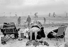 A major new photography exhibition at the National Maritime Museum in London reveals the unique idiosyncrasies of the British seaside, via works by Martin Parr, David Hurn, Tony Ray-Jones and Simon Roberts. British Beaches, British Seaside, Famous Beaches, Beach Photography, Street Photography, Photography Ideas, Beatles, Black And White Beach, Martin Parr