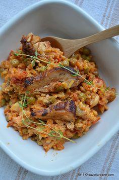 Turkey Recipes, Ratatouille, Japchae, Food And Drink, Chicken, Ethnic Recipes, Mai, Arroz Con Pollo, Kitchens