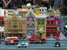 Award-winning interior design and custom home building City Layout, Olympus Digital Camera, Digital Slr, Building Drawing, Lego Construction, Lego Trains, Lego Modular, Lego House, Lego Moc