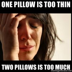First World Problem... lol