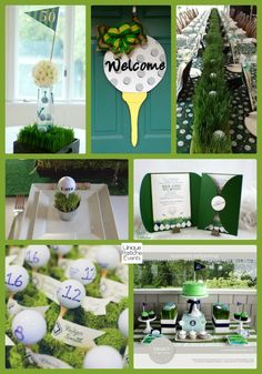 Golf party ideas help turn your picnic, house party, or your even though celebration right into a golf-lovers delight. If you and your friends love playing golf Golf Centerpieces, Golf Party Decorations, Centerpiece Ideas, First Birthday Parties, Birthday Party Themes, First Birthdays, Birthday Gifts, 3rd Birthday, Grandpa Birthday