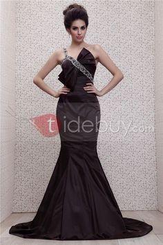 Beautiful Mermaid Floor-Length One-Shoulder Taline's Evening Dress