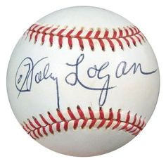 Johnny Logan Autographed NL Baseball Braves PSA/DNA #Q89146 . $49.00. This is an Official National League Baseball that has been hand signed by Johnny Logan. The autograph has been authenticated by PSA/DNA. It has their sticker and matching certificate of authenticity.