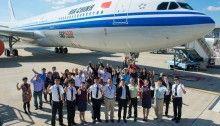 Premier Airbus A330-300 242 tonnes et 50e A330 d'Air China - Source : Airbus