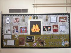Victorians Class Displays, School Displays, Classroom Displays, Victorian History, Victorian Toys, Primary Classroom, Primary School, School Projects, School Ideas