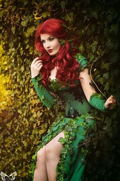 Cosplay poison ivy