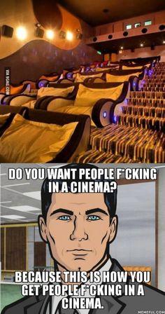 When I Saw this post off cuddling cinema...