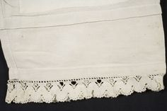 Twill woven cotton drawers, Swedish, 1860's. Malmö Museer, nr. MMT 000510