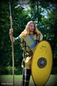 Celtic warrior ready to fight