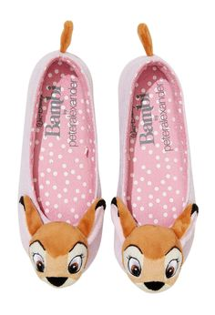 Image for Ladies Bambi Slippers from Peter Alexander