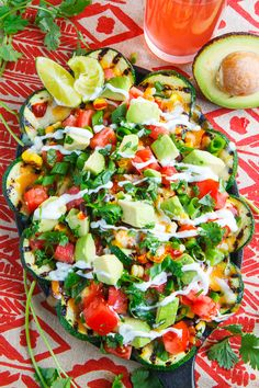 Zucchini season is definitely here! The stores are full of it and it 's pretty cheap so I picked up a lot of it with the plan to start off by making these grilled zucchini nachos! The idea is to slice Vegetarian Grilling, Vegetarian Recipes, Cooking Recipes, Healthy Recipes, Healthy Grilling, Grill Recipes, Barbecue Recipes, Barbecue Sauce, Pasta Recipes