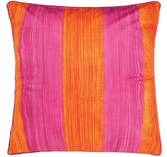 Cathie Maney Free Spirit European Pillowcase Orange