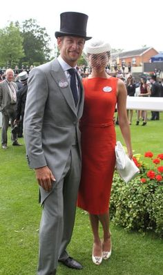 Jessica Michibata and Jenson Button during day two of the 2012 Royal Ascot meeting