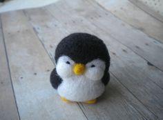 Freddie Felted Penguin