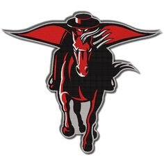 Texas Tech University Red Raider Embroidered Patch Badge / Emblem