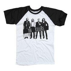 The Killers Black & White Two Tone Shirt TShirt by 2toneCollection
